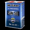 Масло моторное синтетическое Hi-Gear 5W50 SM/CF 4л