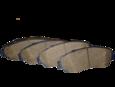 Колодки тормозные дисковые, передние (3501115XKZ16A)
