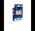 Комплект автоламп PHILIPS W5W T10 LED 12V 6000K X-tremeUltinon 12799