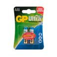 Батарейки GP AAA Ultra Plus Alkaline (блистер 2шт)