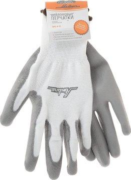 Перчатки нейлоновые с цельным полиуретановым покрытием ладони AIRLINE