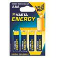Батарейки VARTA ENERGY AAA/LR03 (блистер 4шт)