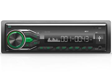 Автомагнитола ACV AVS-1712G 1din/зелен/USB/SD/FM/4*45
