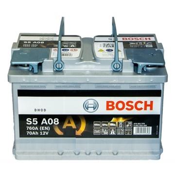 Аккумулятор BOSCH 70e 570 901 076 S5 AGM (S5A 080)