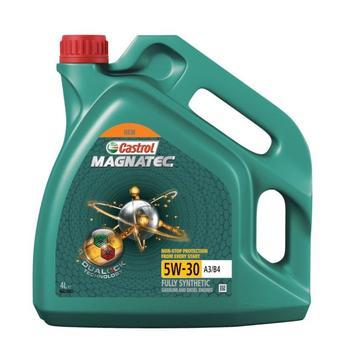 Масло моторное Castrol Magnatec A3/B4 DUALOCK 5w30 4л синтетическое