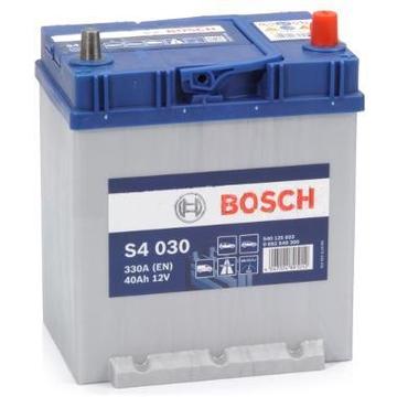 Аккумулятор BOSCH 40e 540 125 033 S4 Silver (S40 300) н.кр. PFL