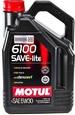 Масло моторное Motul 6100 Save-Lite 5w30 4л полусинтетическое