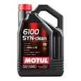 Масло моторное Motul 6100 Syn-Clean 5w40 4л полусинтетическое