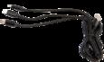 Кабель-переходник 3 в 1 USB-IP+MicroUSB+Type-C 1,2 м CBS960-U8MUTC-12B WIIIX