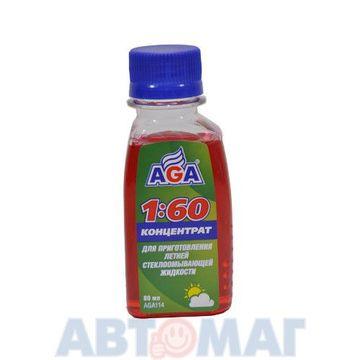 Жидкость в бачок омывателя летняя концентрат 1:60 AGA AGA114
