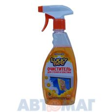Очиститель стекол и пластика Lucky Bee 473мл
