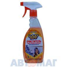 """Очиститель стекол и зеркал """"Кристальная чистота"""" Lucky Bee 473мл"""