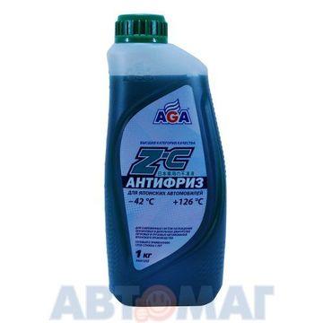 Антифриз готовый к применению для японских автомобилей AGA Z-C зеленый -42, 1 кг