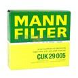 Фильтр салонный угольный MANN CUK 29 005