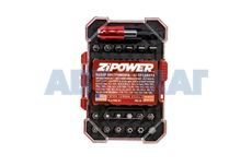 Набор бит ZiPower 43 предмета PM5134