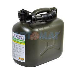 Канистра для топлива ZiPower 5л оливковая