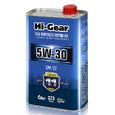 Масло моторное синтетическое Hi-Gear 5W30 SM/CF 1л