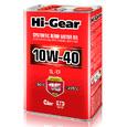 Масло моторное полусинтетическое Hi-Gear 10W40 SL/CF 4л