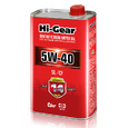 Масло моторное полусинтетическое Hi-Gear 5W40 SL/CF 1л