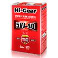 Масло моторное полусинтетическое Hi-Gear 5W40 SL/CF 4л