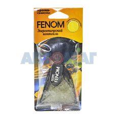 Ароматизатор воздуха подвесной Энергетический коктейль Fenom