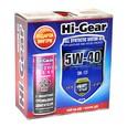 Масло моторное синтетическое Hi-Gear 5W40 SN/CF 4л+подарок