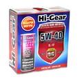 Масло моторное полусинтетическое Hi-Gear 5W40 SL/CF 4л+подарок