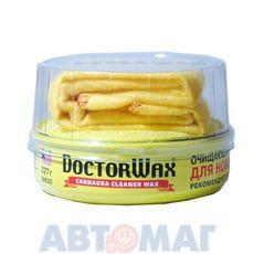 """Пастообразная очищающая полироль-защита Doctor Wax с воском """"Карнауба"""" для новых покрытий 300мл"""