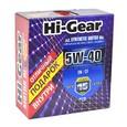 Масло моторное синтетическое Hi-Gear 5W40 SN/ CF 4л + подарок