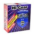 Масло моторное синтетическое Hi-Gear 5W50 SM/ CF 4л + подарок