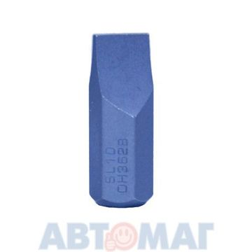 Slotted Bits 10мм Hex  x 30мм. Размер 10 мм