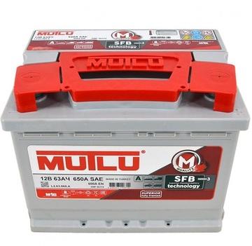 Аккумулятор MUTLU 63e LB2.63.064.A 12V 63 а/ч 640 А