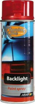 Лак для тонировки фонарей красный (аэрозоль) 150 мл MOTIP
