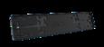Рамка номерного знака RCS черная Light (1шт)