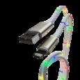 Кабель-переходник светомузыка USB-IP 1м CB930-U8-2A-MUSIC-10W WIIIX