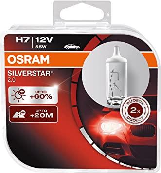 Комплект автоламп OSRAM SilverStar H7 55W 12V (64210 SV2)