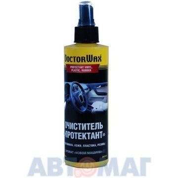 Очиститель Протектант для винила, кожи, пластика, резины с ароматом новой машины Doctor Wax 236мл