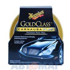 Автомобильная полироль паста с воском карнауба Meguiar's Gold Class 311гр