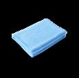 Полотенце из микрофибры Profi-Microfasertuch для сушки автомобиля, голубое 55х80см
