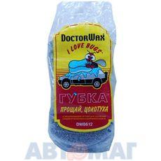 """Губка для мойки с сеткой для удаления налета и насекомых """"Прощай цокотуха"""" Doctor Wax"""