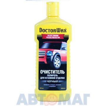 Полироль-очиститель для кузовной отделки Doctor Wax черная  300мл