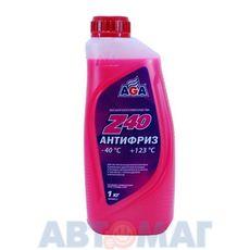 Антифриз готовый к применению AGA001Z красный -40, 946мл