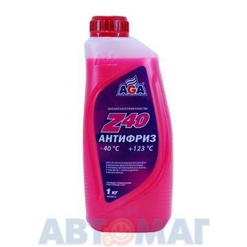 Антифриз готовый к применению AGA Z40 красный -40, 946мл