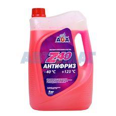 Антифриз готовый к применению AGA Z40 красный -40, 5л