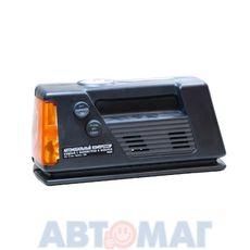 Автомобильный компрессор с манометром и фонарём 10л/мин ZiPower