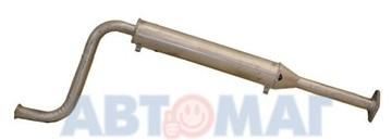 Глушитель ВАЗ 21082/2115 доп.(резонатор) инж.дв.V1.5 ЕВРО-2 под катализ.