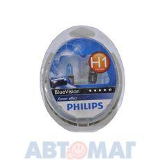 Автолампа H1 55W 12V PHILIPS 12258 BVU (шт)