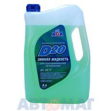Незамерзающая жидкость для омывателя стекла, готовая к применению -20 AGA D20