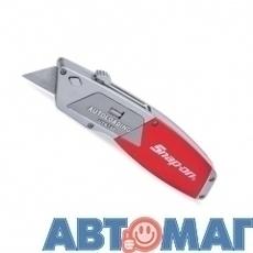 Нож со сменным выдвижным лезвием и автозагрузкой лезвий