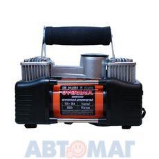 Компрессор автомобильный двухцилиндровый 85 л/мин